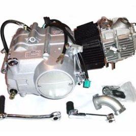 MOTOR REBEL MASTER 125 cc 4 VELOCIDADES Y ARRANQUE ELÉCTRICO